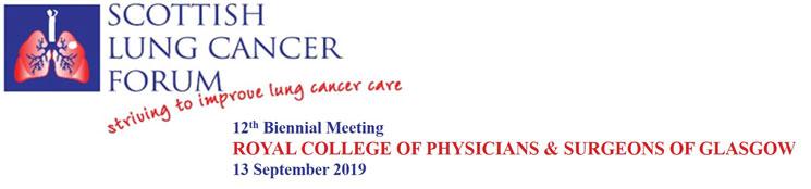 Scottish Lung Cancer Forum 2019
